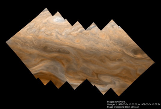 Jupiter's North Tropical Zone