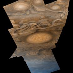 Southern oval on Jupiter