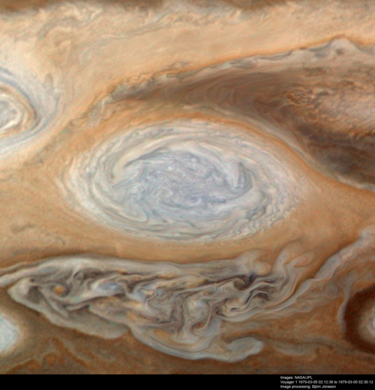 White Oval DE, Jupiter