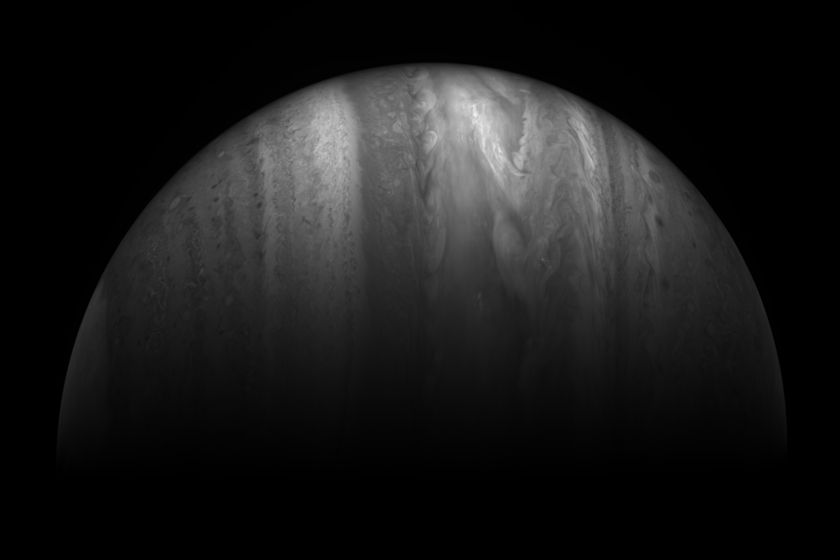 Jupiter from New Horizons