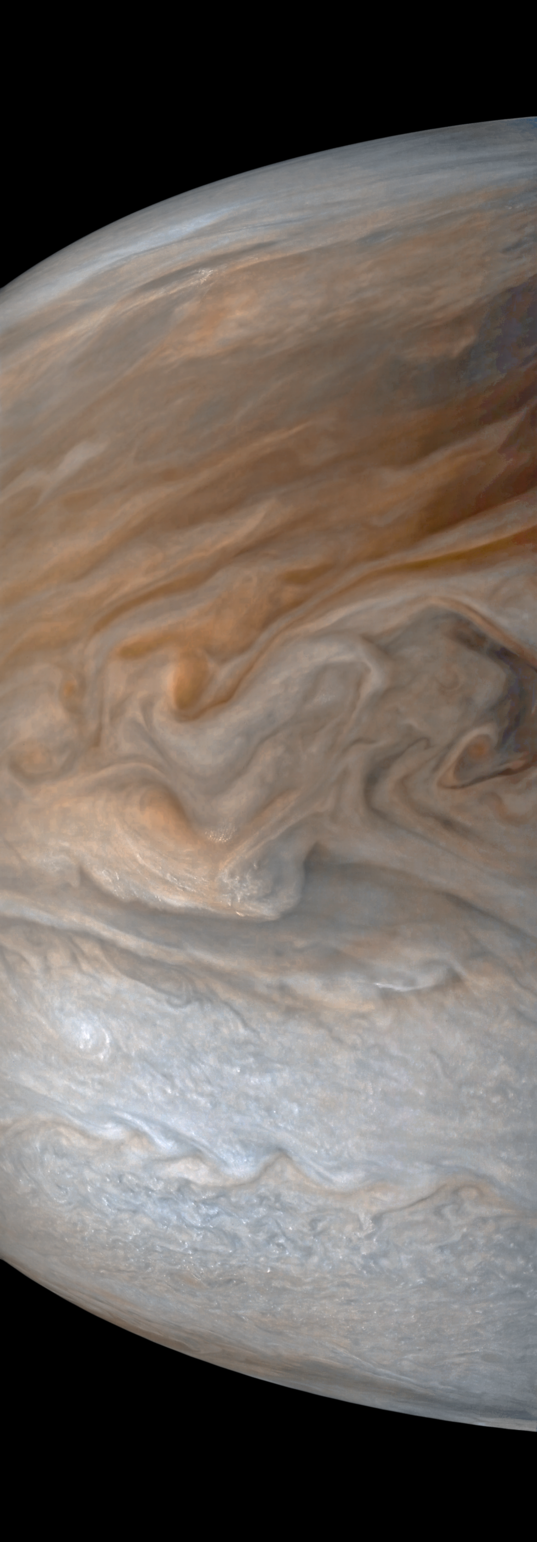 Turbulence in Jupiter's South Equatorial Belt