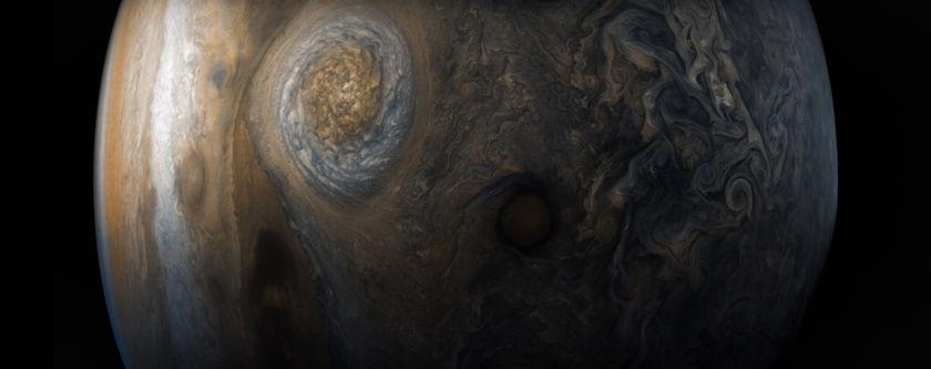 Jupiter from Juno's seventh perijove