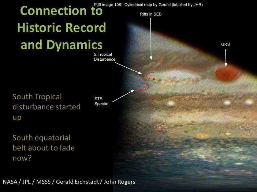 Candy Hansen at AGU17, slide 14: New south tropical disturbance