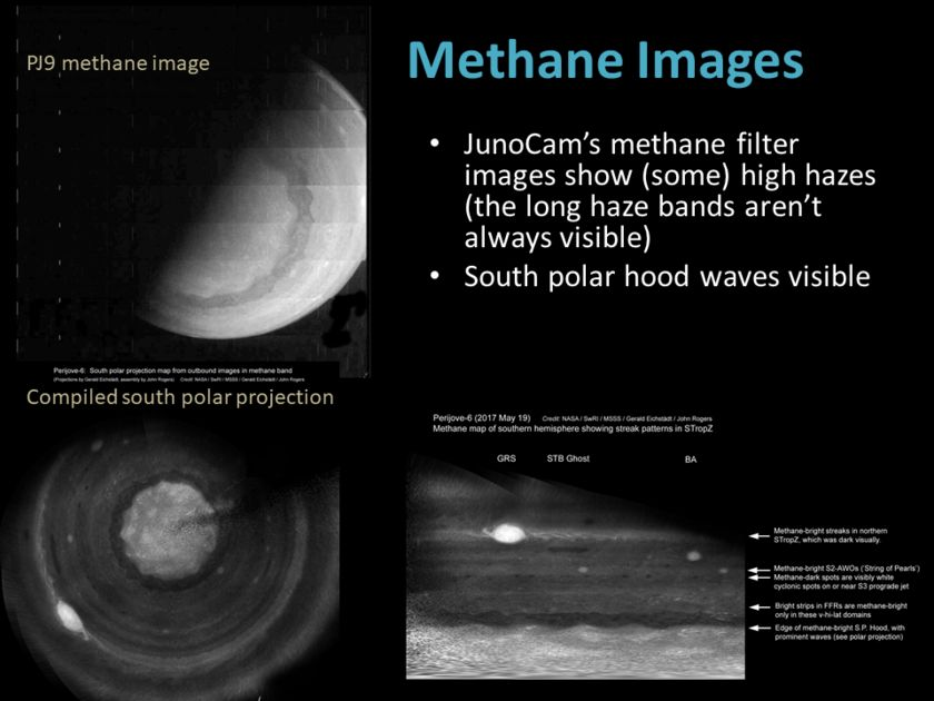 Candy Hansen at AGU17, slide 18: Methane images