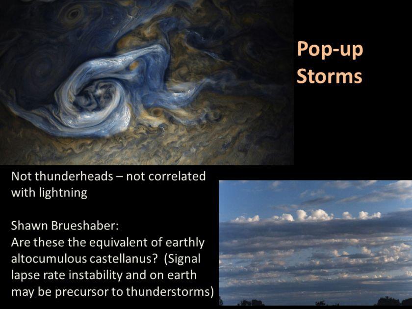 Candy Hansen at AGU17, slide 20: Pop-up storms