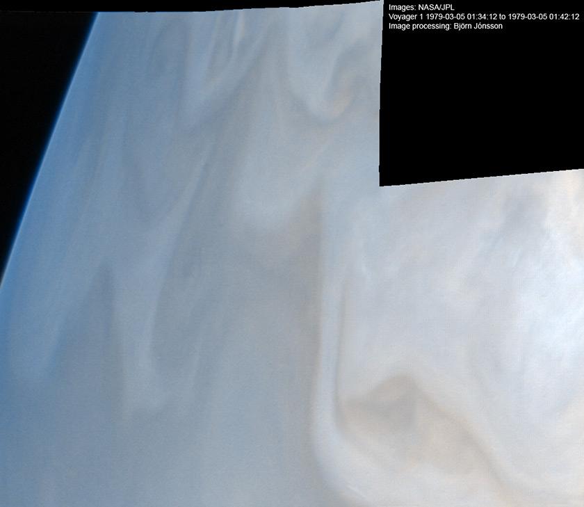 Jupiter's limb