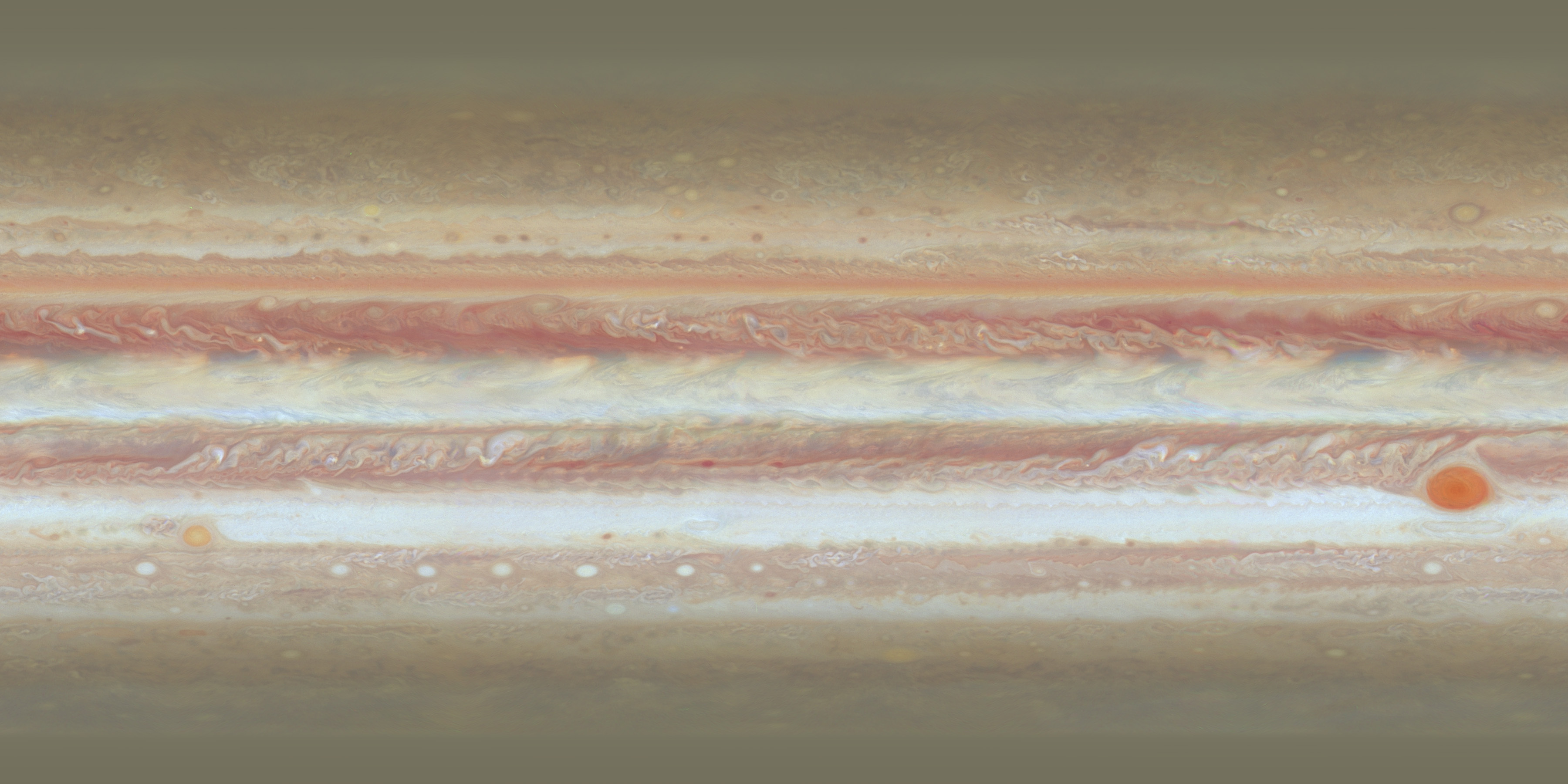 Jupiter texture map for animation | The Planetary Society