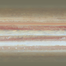 Jupiter texture map for animation