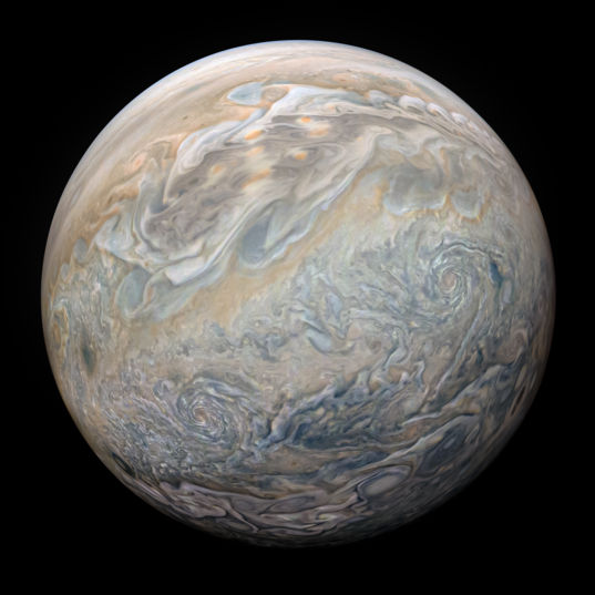 Jupiter from Juno on Perijove 23
