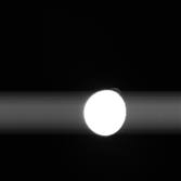 Io from New Horizons (exposure time: 75 milliseconds)