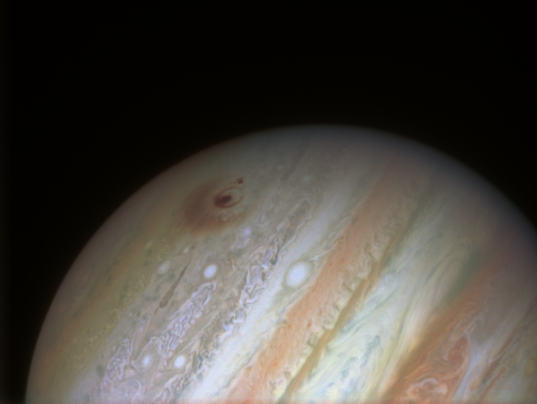 Shoemaker-Levy 9 Fragment D and G Impact Scars on Jupiter