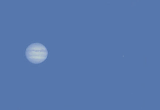Jupiter in Daylight