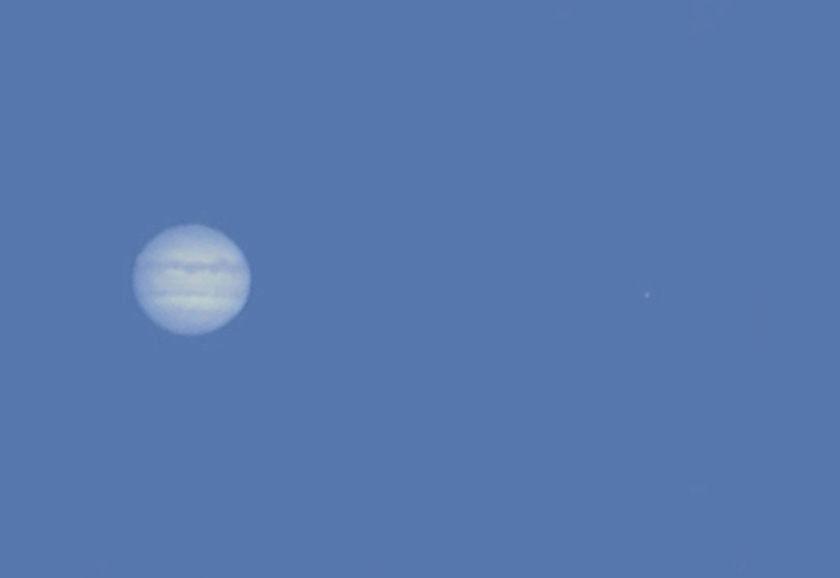 Jupiter in Daylight
