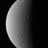 Dione in approximate true color