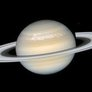 Saturn's storm from Hubble
