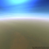 110 kilometers above the surface of Titan