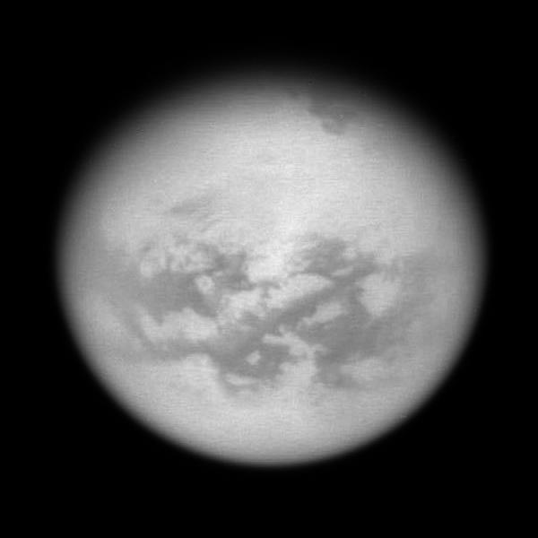 Peeking into Titan's northern territory