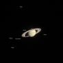 Saturn family portrait (taken 20 months before Cassini orbit insertion)