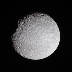 Mimas in natural color