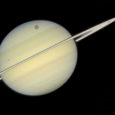 Saturn quadruple transit