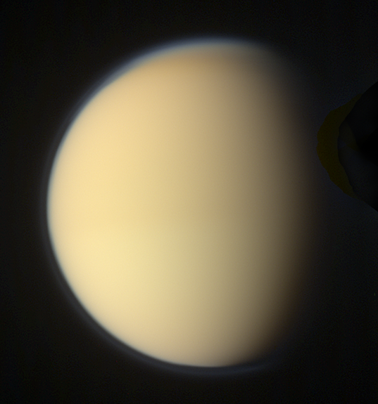 Global color view of Titan