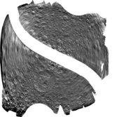 SAR image of Rhea