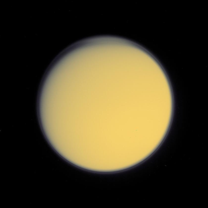 Titan's high haze