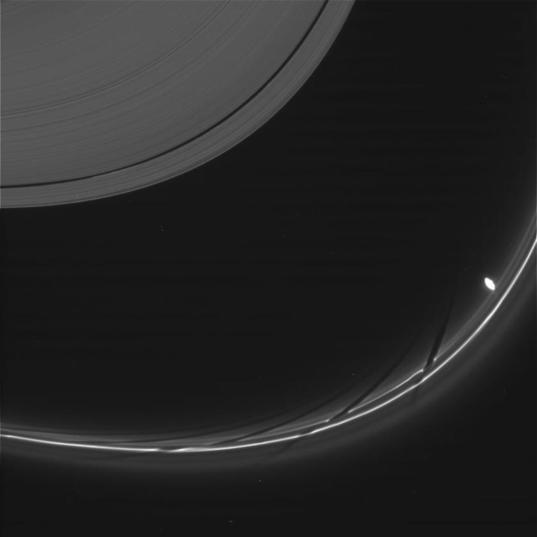 Prometheus Invading F Ring