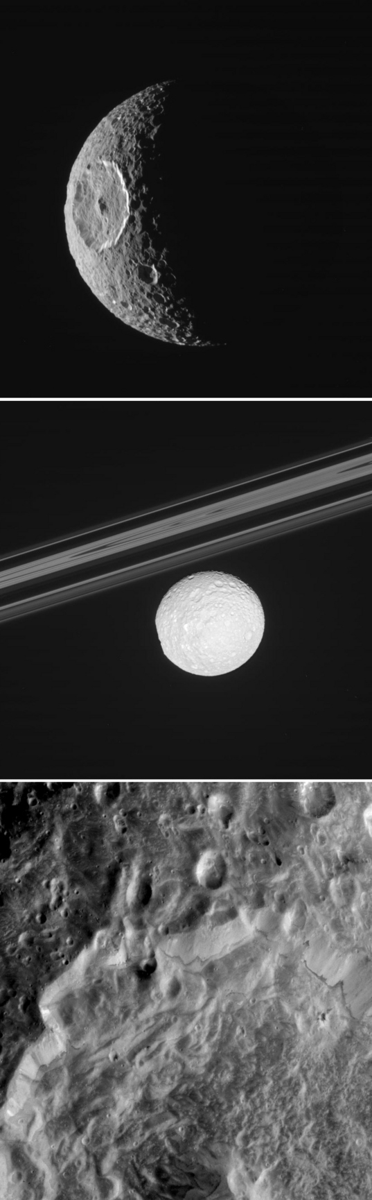 Cassini views of Mimas