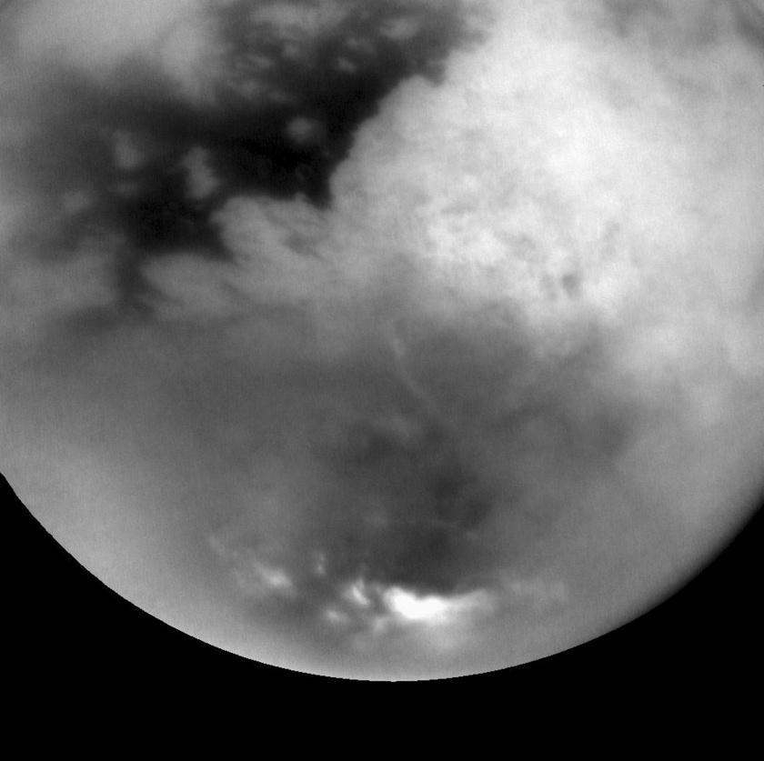 Titan's summer storms