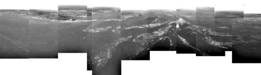 Huygens DISR panorama of Titan's surface (official release)