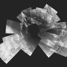 Huygens' Descent to Titan