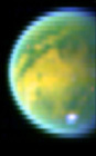 Color view of Titan from VIMS