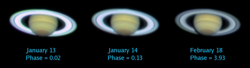 Opposition surge of Saturn's rings