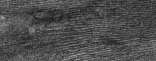Longitudinal dunes on Titan