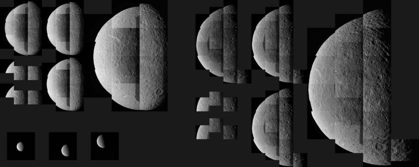 Raw data from Cassini's February 9, 2015 Rhea flyby