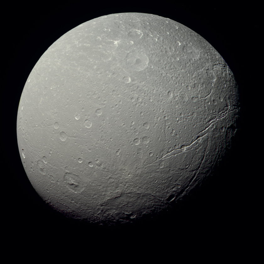 Dione in true color