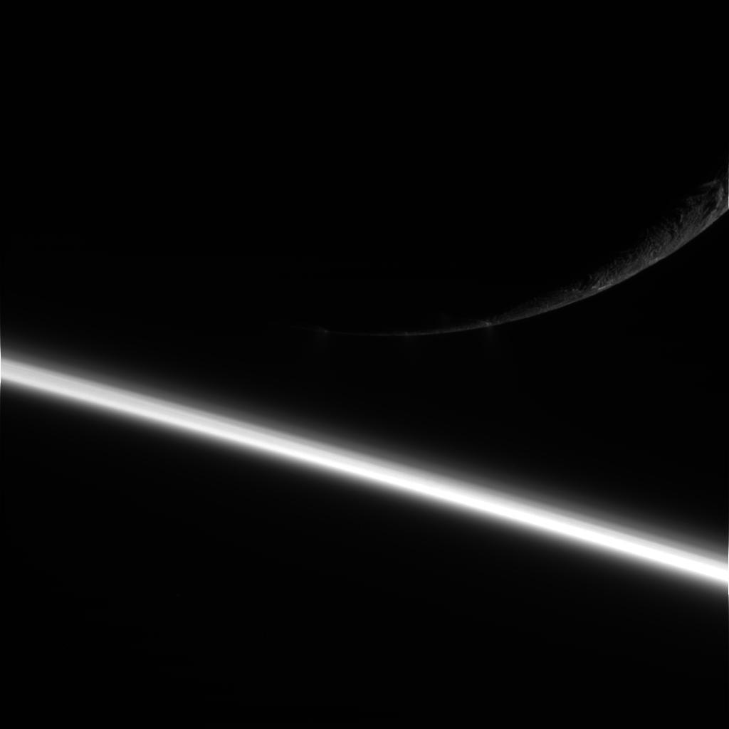 Enceladus rising