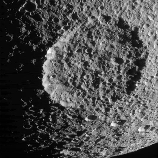 Penelope crater, Tethys