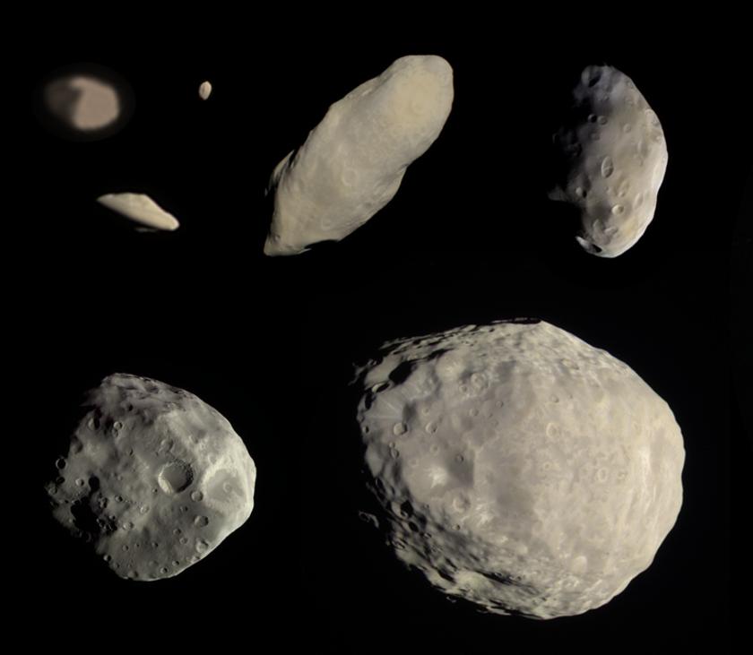 Saturn's ringmoons