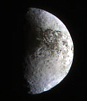 Iapetus in false color (18 February 2010)