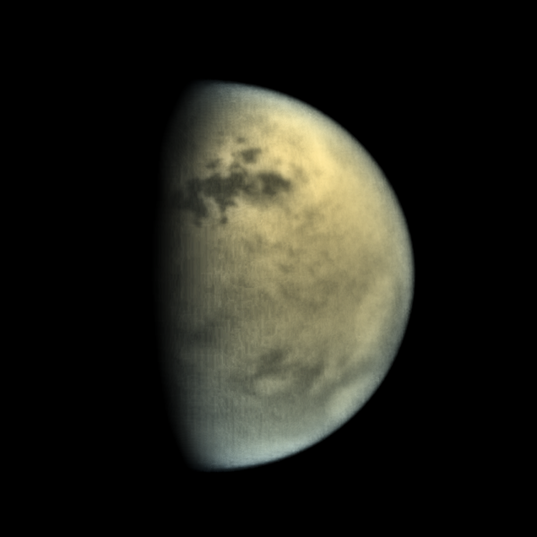 Titan's northern lakes, 16 July 2016
