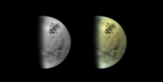 Titan's northern lakes, August 3, 2016
