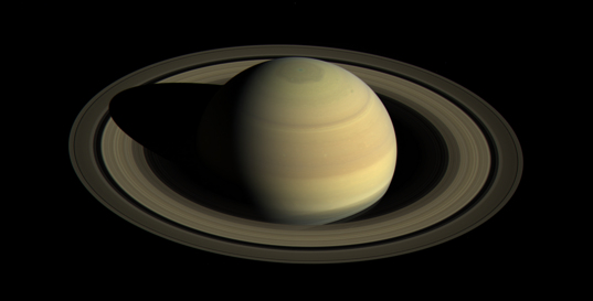Saturn approaching summer in the north