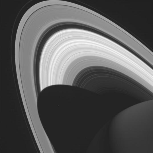 Saturn from Cassini spacecraft, 6 November 2016