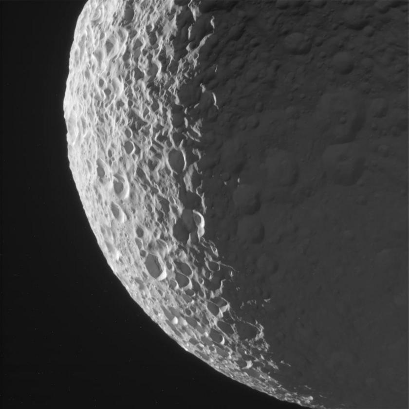 Mimas on Jan. 30, 2017