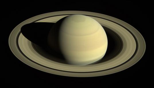 Saturn in April 2016