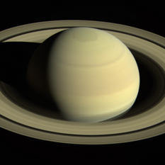 Saturn in April 2016