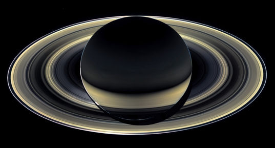 "Cassini's ""Grand Finale"" Saturn portrait (13 April 2017)"