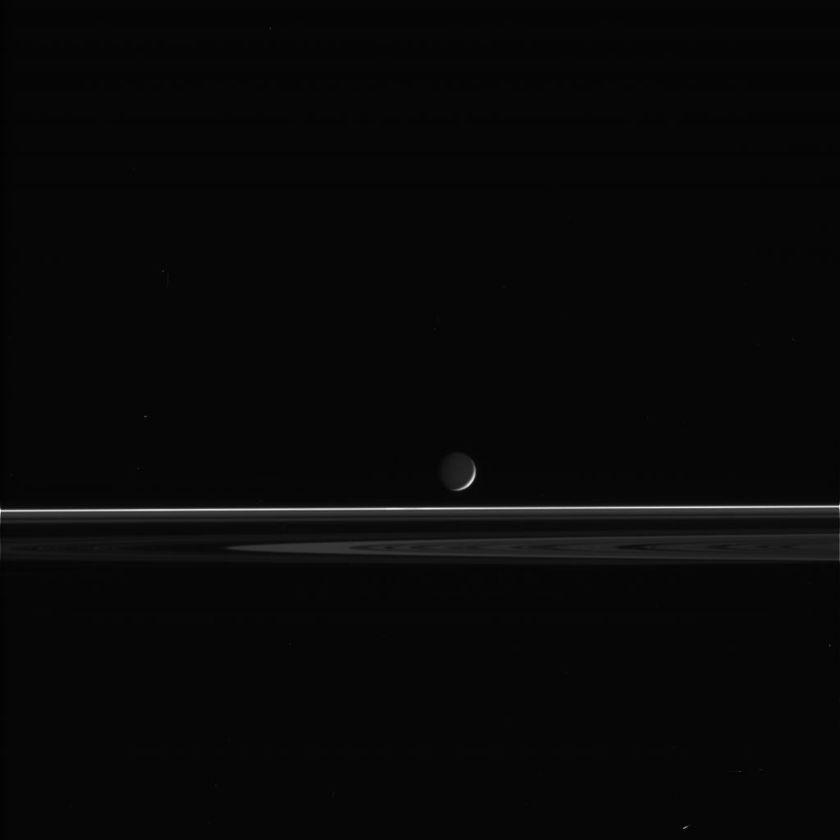 Enceladus and rings